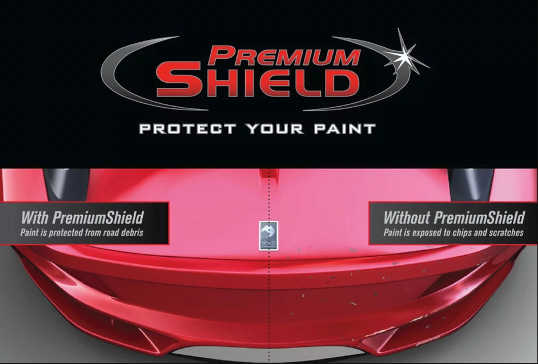"Paint Protection Film (PPF), also know as ""Clear Bra"""